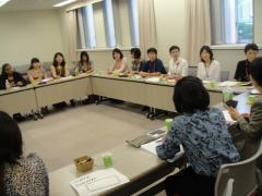 10. View exchange meeting with staff of Shizuoka City Women's Center, AICEL 21